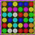 Flower Action Puzzle