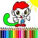 BTS Monkey Coloring – Oboji majmuna