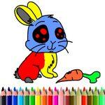 bts rabbit coloring book