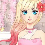 Anime Girls Fashion Makeup Dress Up