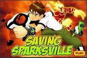 Ben 10 – Saving Sparksville