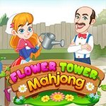 Mahjong Flower Tower