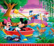 Mickey Mouse Hidden Numbers
