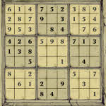 Stone Sudoku