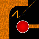 The Line Game Orange