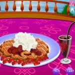 Waffle Decorating